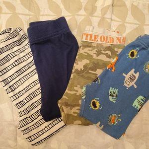 4 Bundle Toddler Pajama Pants